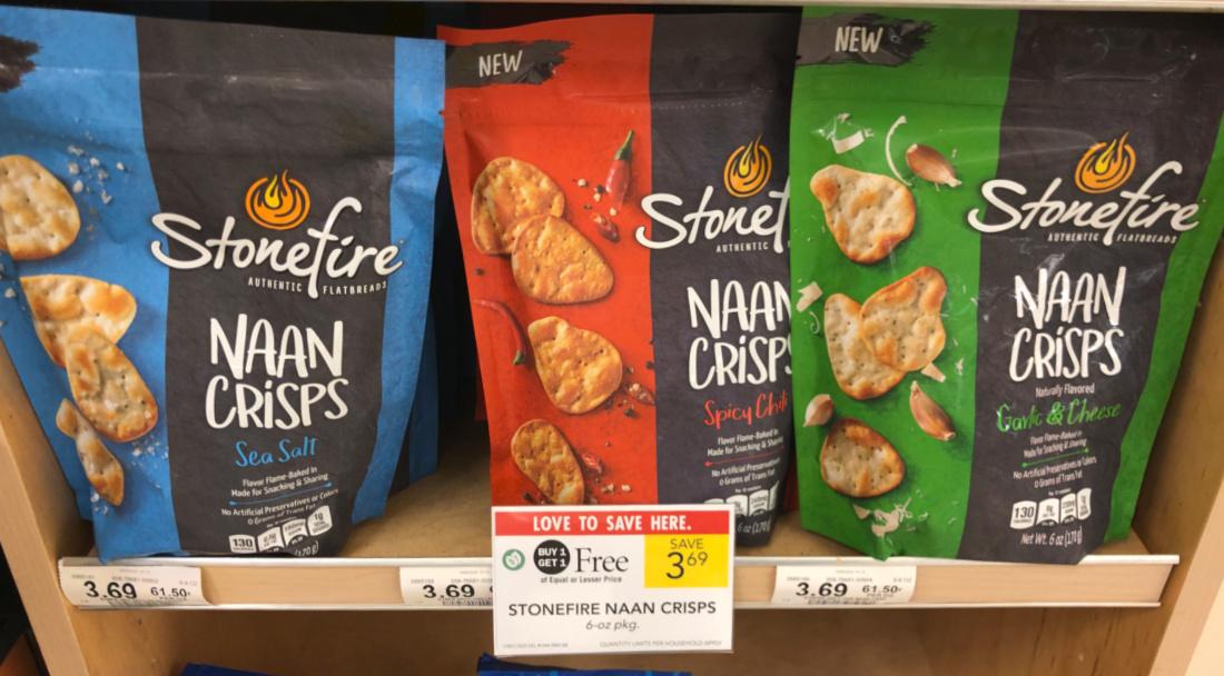 Stonefire Naan Crisps Just 85¢ At Publix on I Heart Publix