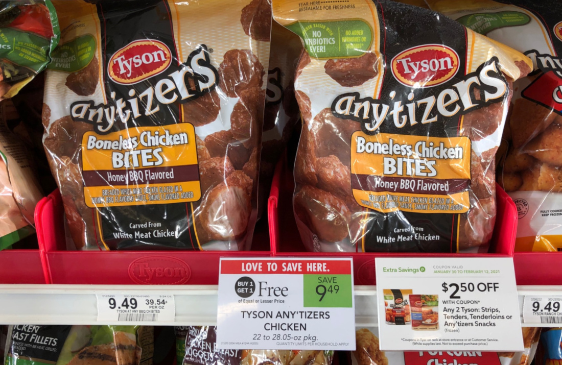 Tyson Any'Tizers Chicken As Low As $2.02 Per Bag At Publix on I Heart Publix