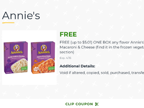 Get Annie's™  One-Pot Pasta For FREE At Publix on I Heart Publix 2