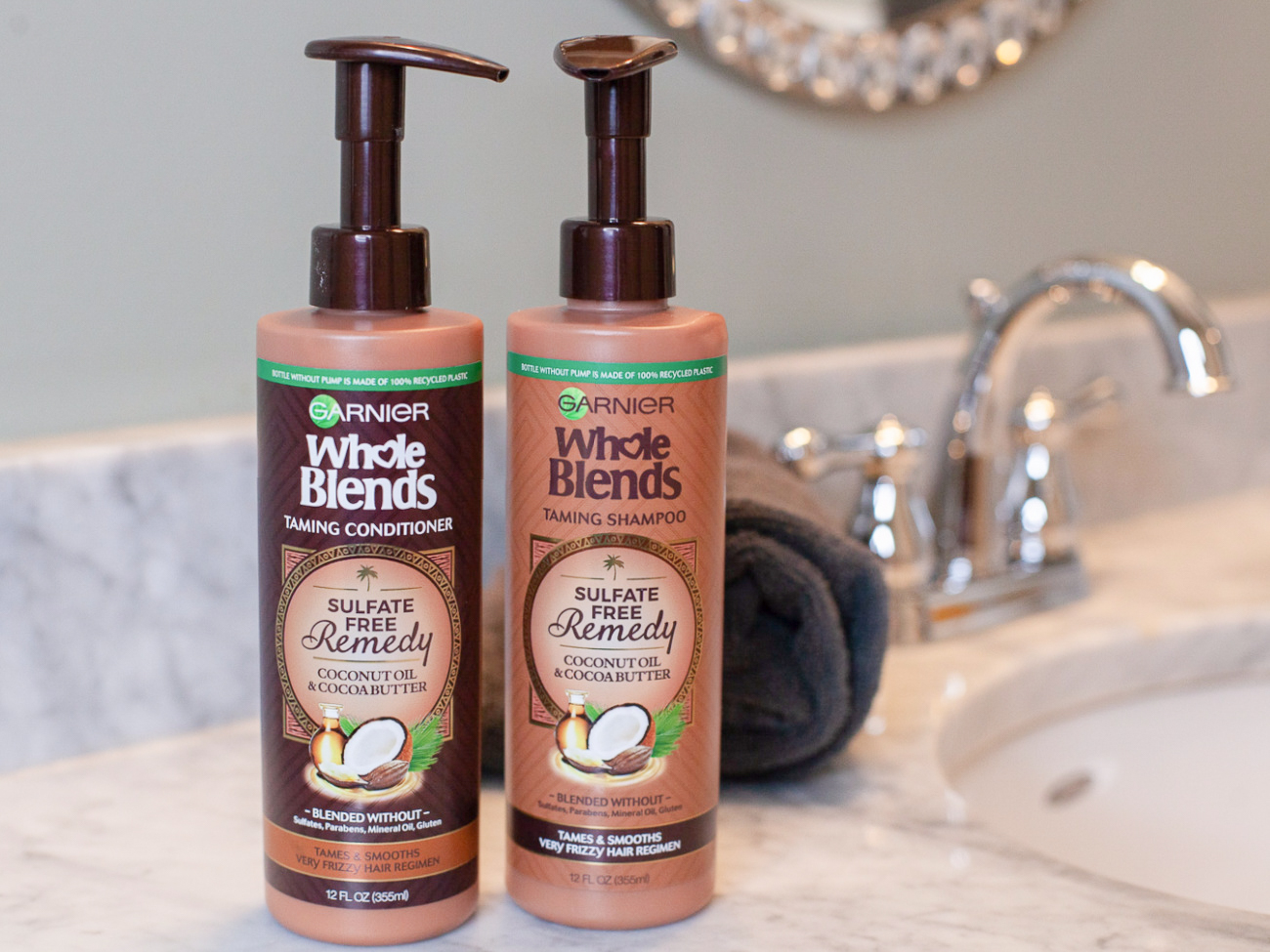 Garnier Whole Blends Sulfate Free Remedy Hair Care Just $3.25 Per Bottle (Regular Price $8.49) on I Heart Publix