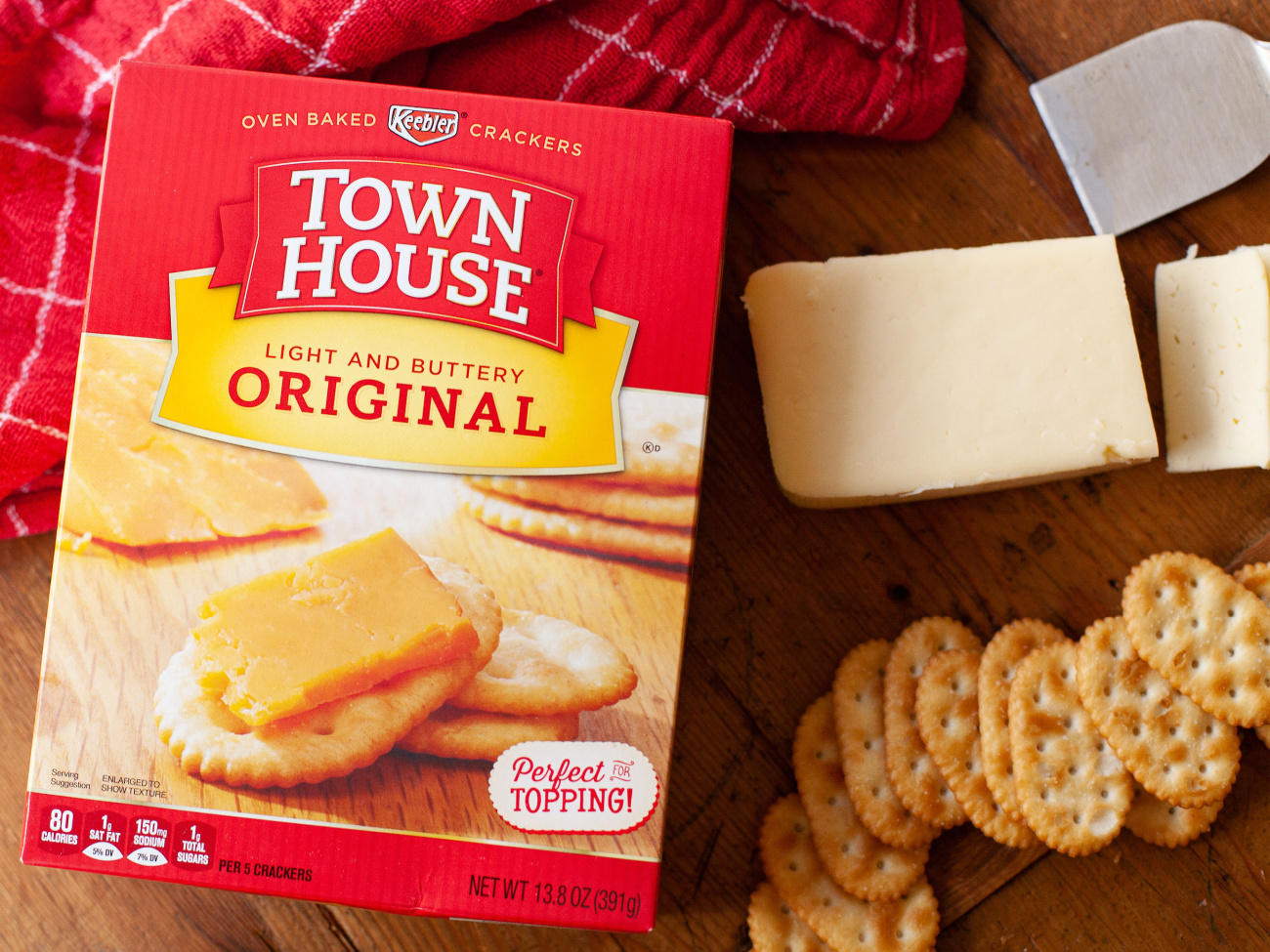 Keebler Club Or Town House Crackers Just 79¢ At Publix on I Heart Publix