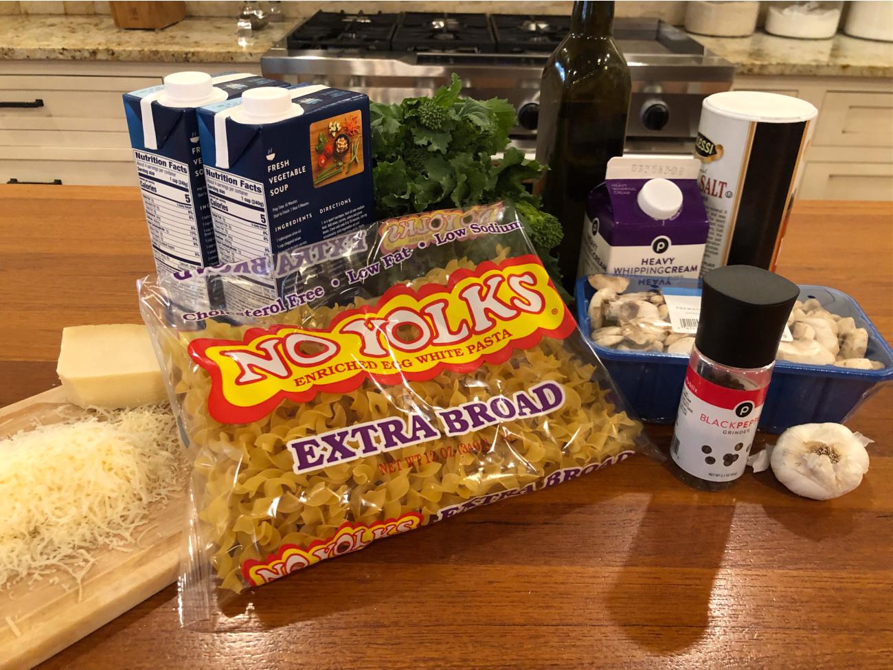 Cacio e Pepe Noodle Soup on I Heart Publix