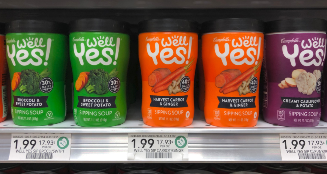 Campbell's Well Yes! Sipping Soup Just $1.24 At Publix on I Heart Publix