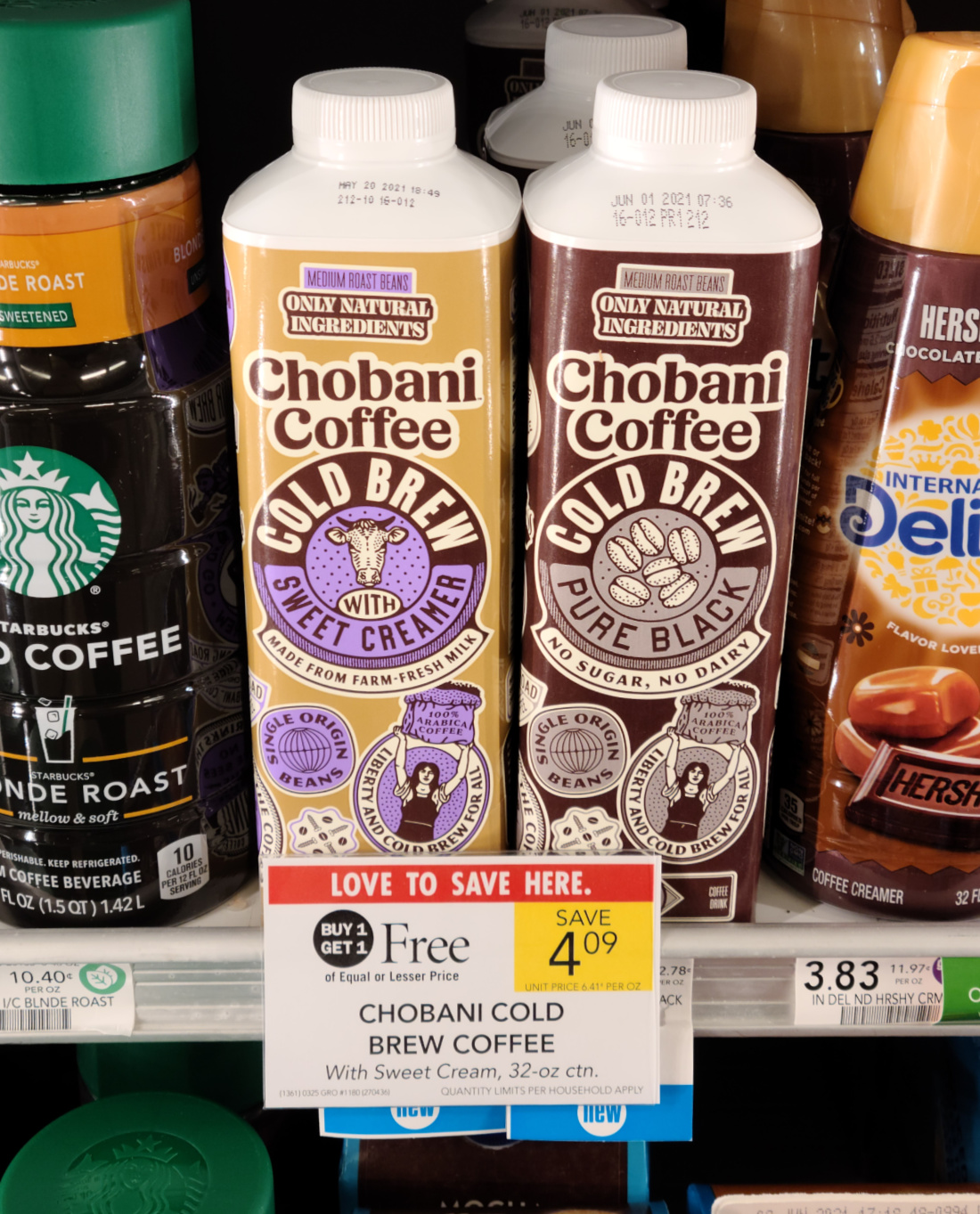 Chobani Cold Brew Coffee As Low As FREE At Publix on I Heart Publix