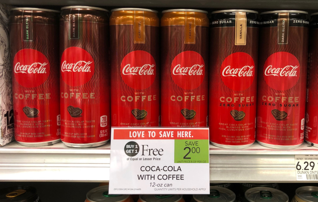 Coca-Cola With Coffee Just 75¢ Per Can At Publix on I Heart Publix 1