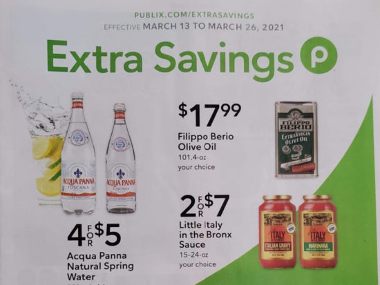 Publix Extra Savings Flyer Valid 3/13 to 3/26 on I Heart Publix