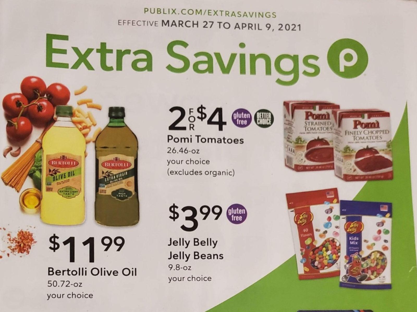 Publix Extra Savings Flyer Valid 3/27 to 4/9 on I Heart Publix