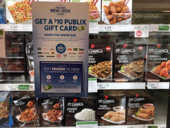 Save Up To $7 AND Earn Gift Cards This Week With The Frozen Rewards Club At Publix on I Heart Publix 1