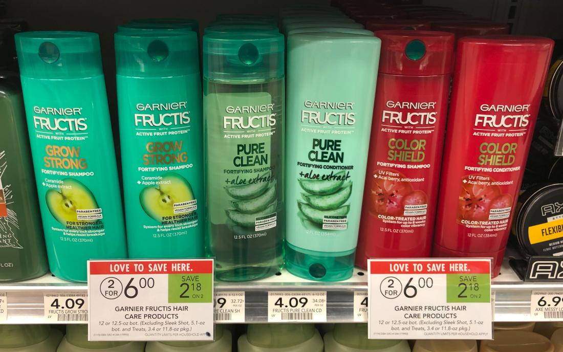 New Garnier Fructis Hair Care Coupon For Publix Sale Just $1.50 Per Bottle At Publix on I Heart Publix 1