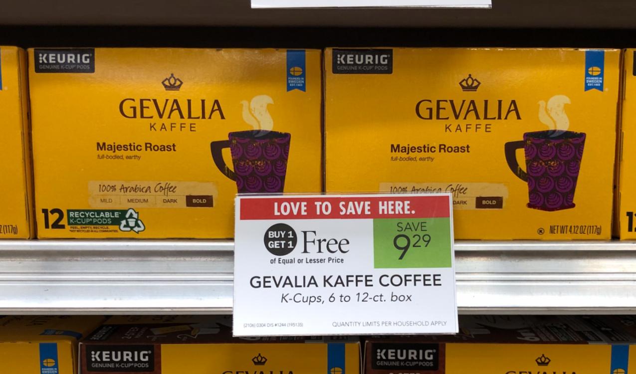 Don't Miss The Gevalia BOGO Sale At Publix - Choose The Coffee You Love & Save BIG! on I Heart Publix 2