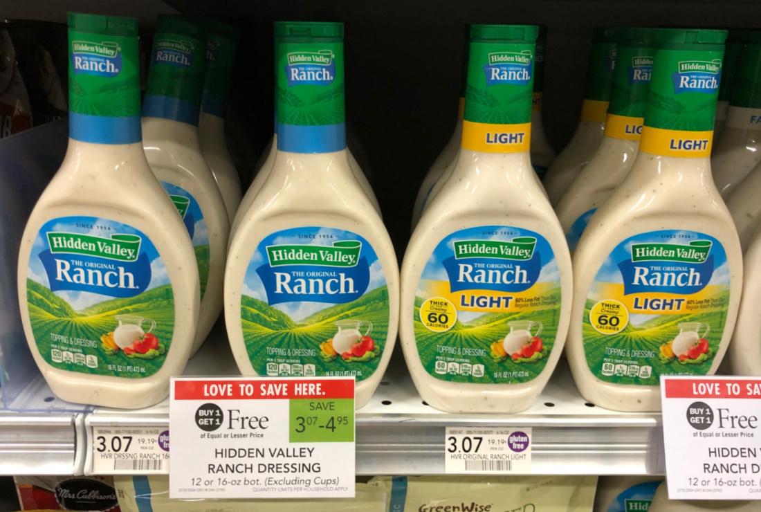 Hidden Valley Ranch Dressing Just $1.04 Per Bottle At Publix on I Heart Publix 2