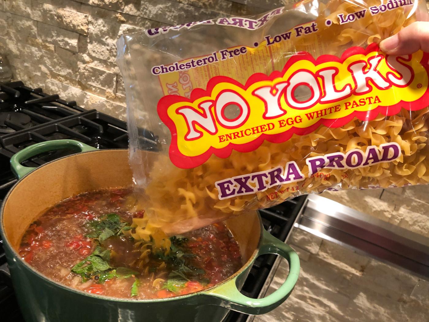 Meaty Lasagna Noodle Soup on I Heart Publix 5