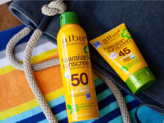 Alba Botanica Suncare Draft #4 on I Heart Publix