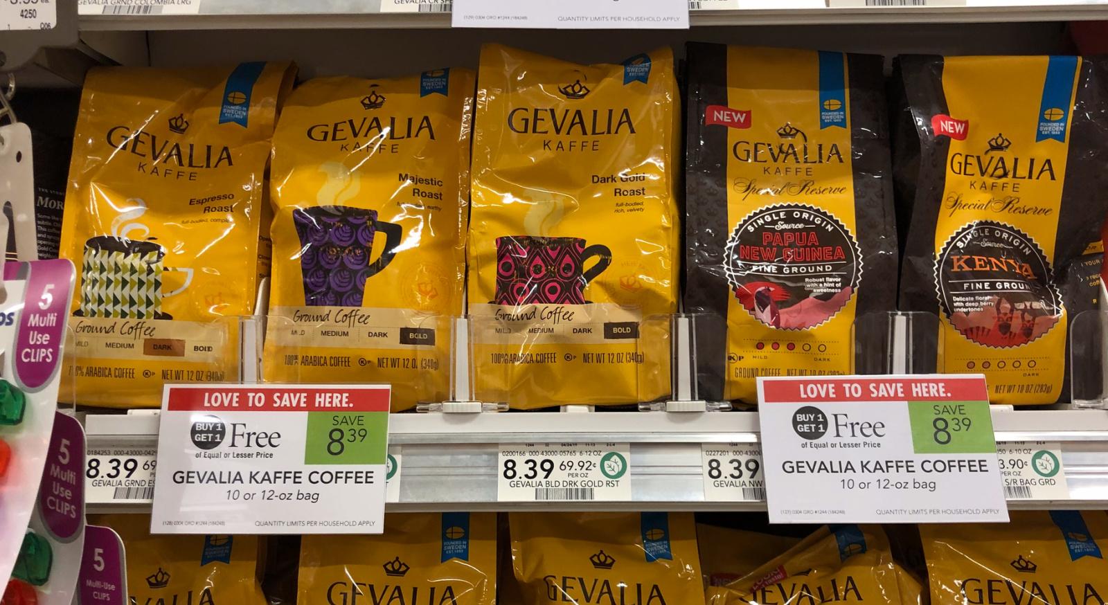 Gevalia Coffee BOGO Offer on I Heart Publix