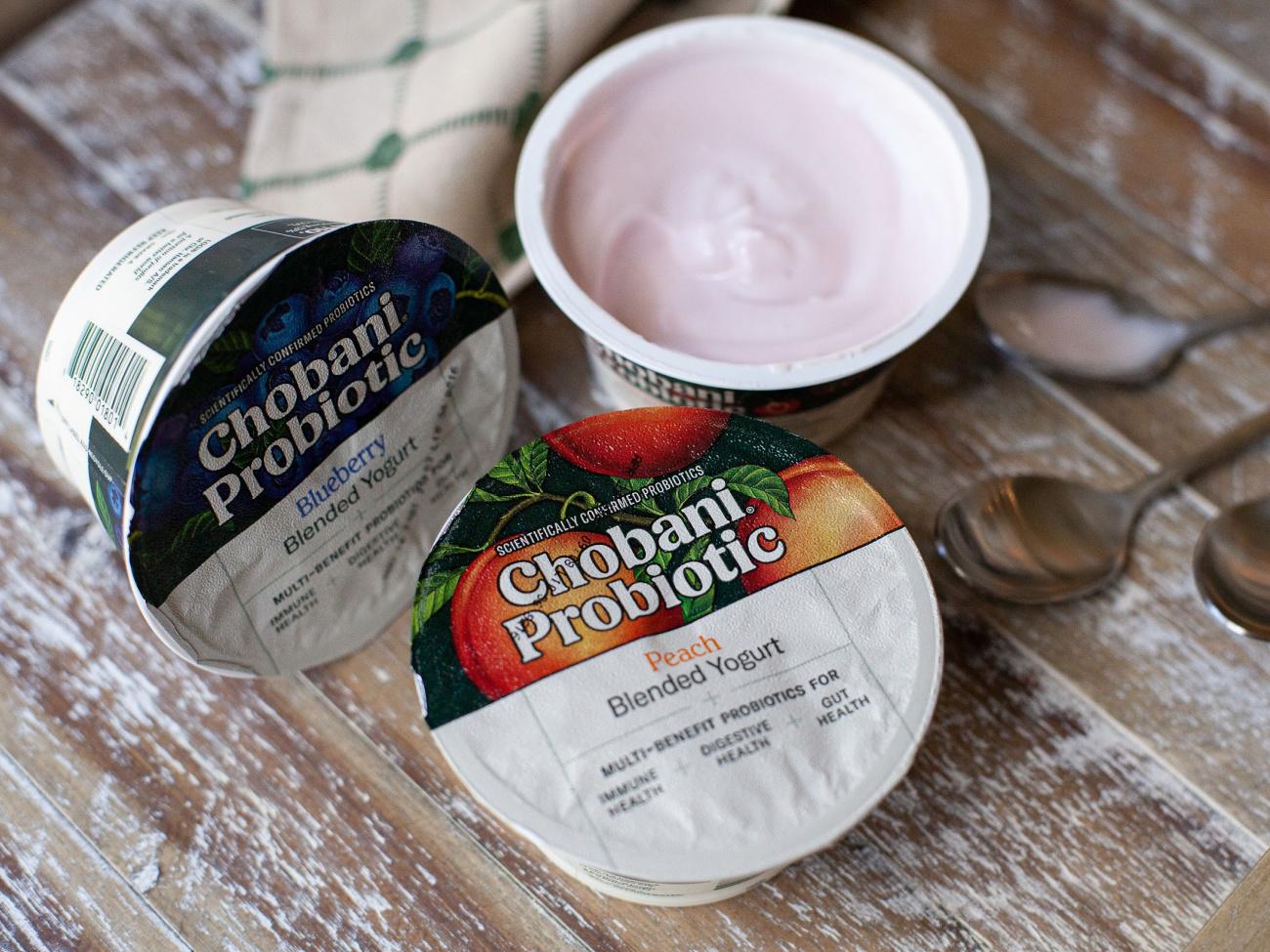 Chobani Probiotic Yogurt As Low As 13¢ Per Cup At Publix on I Heart Publix
