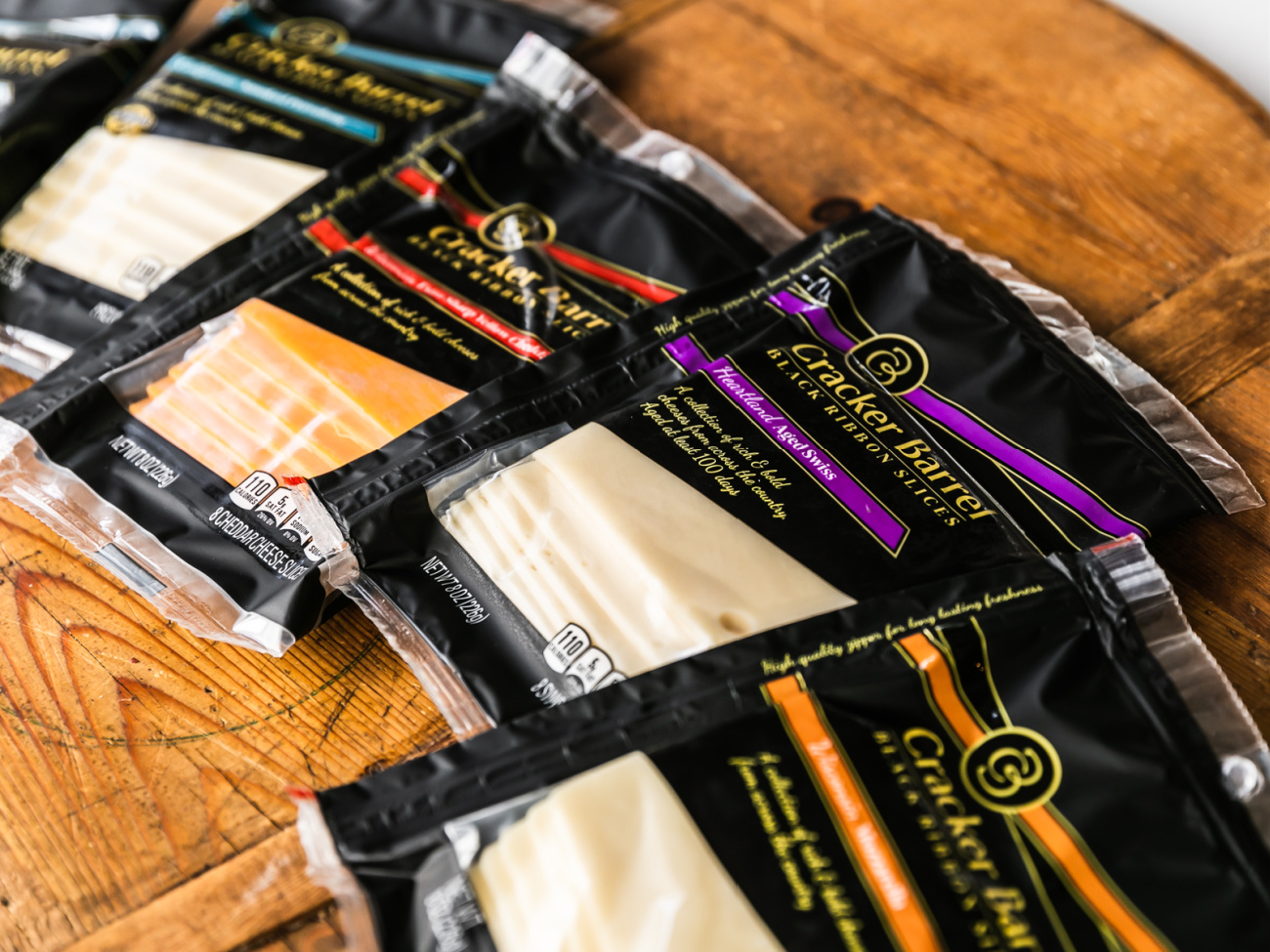Great Deal On All The Delicious Varieties Of Cracker Barrel Black Ribbon Cheese Slices At Publix on I Heart Publix