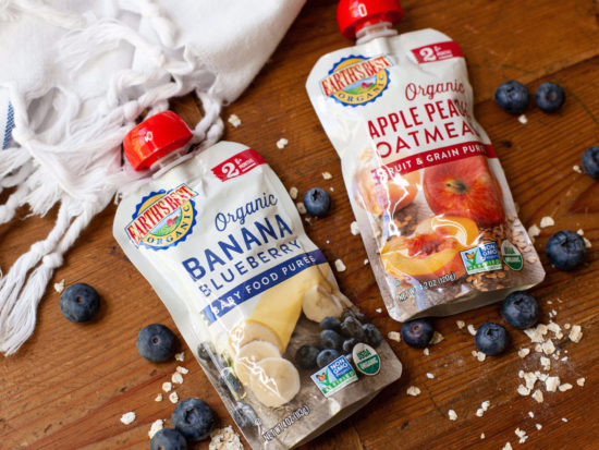 Earth's Best Organic Baby Food As Low As 37¢ Per Pouch At Publix on I Heart Publix