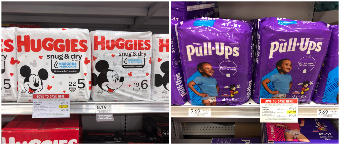 Can't-Miss Deal On Huggies Diapers And Pull-Ups This Week At Publix - Diapers As Low As $2.99! on I Heart Publix 1