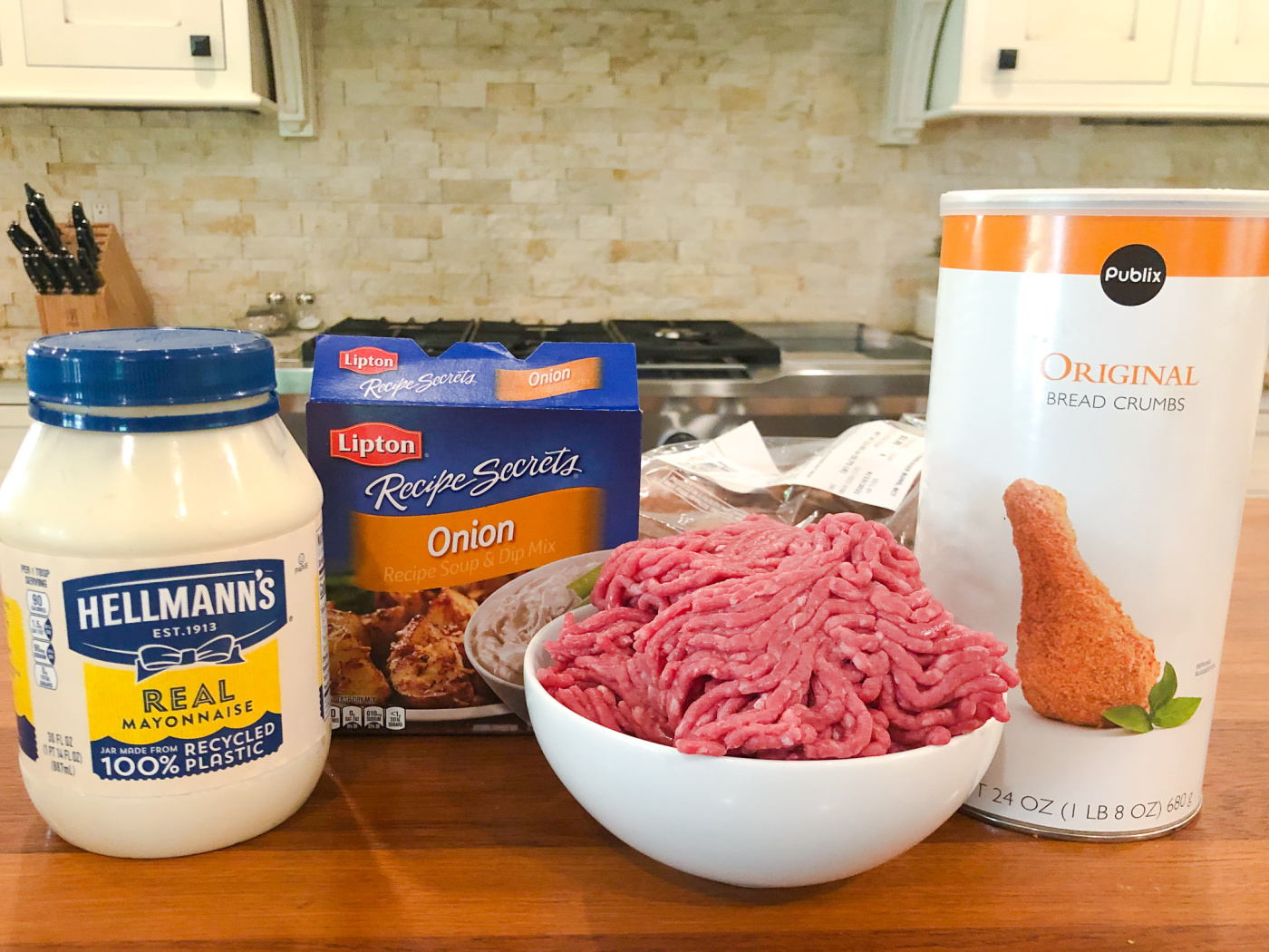Best Ever Juicy Burgers Recipe Using Hellmann's Mayonnaise - BOGO Sale This Week At Publix! on I Heart Publix