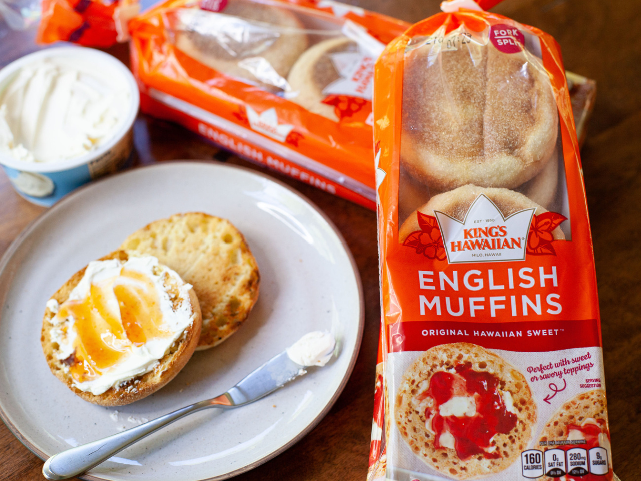 New King's Hawaiian English Muffins Are Available In Select Publix Location - Grab A Pack And Treat Mom To Great Taste on I Heart Publix 1