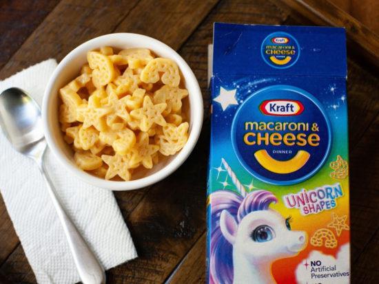 Kraft Macaroni & Cheese Unicorn Shapes Just 27¢ Per Box on I Heart Publix 1