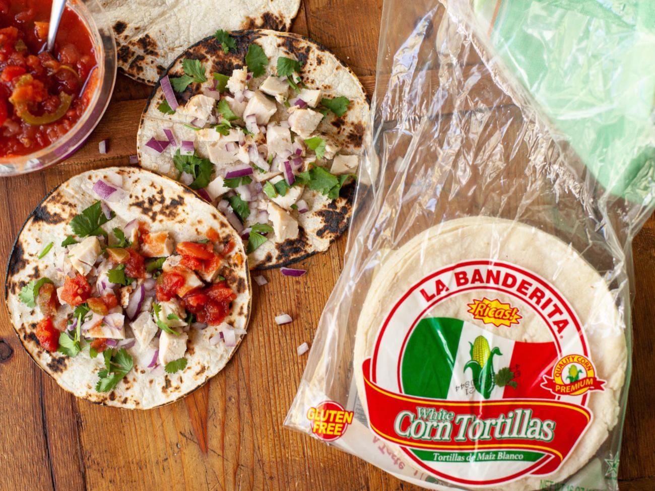 La Banderita Corn Tortillas As Low As 19¢ Per Pack At Publix (Plus Cheap Flour Tortillas) on I Heart Publix
