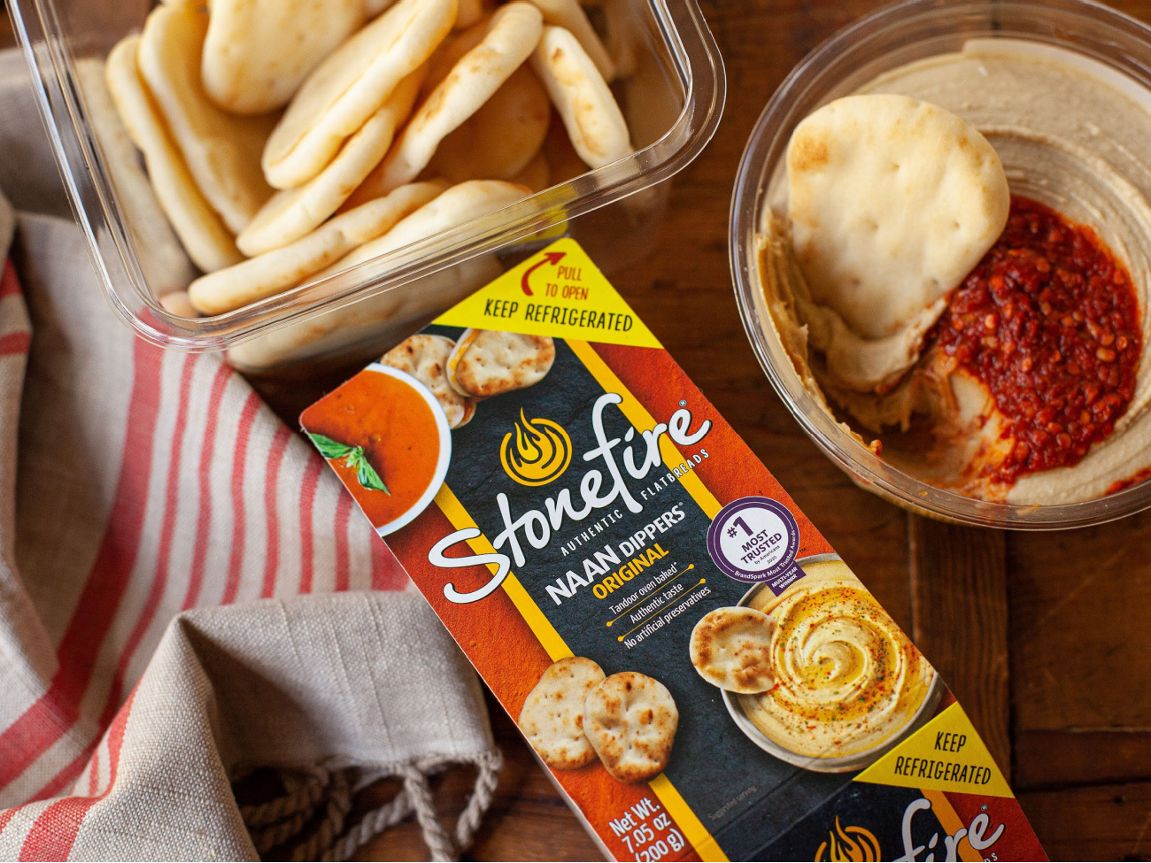 Stonefire Naan Dippers Just $1.50 At Publix (Plus Cheap Flatbreads!) on I Heart Publix