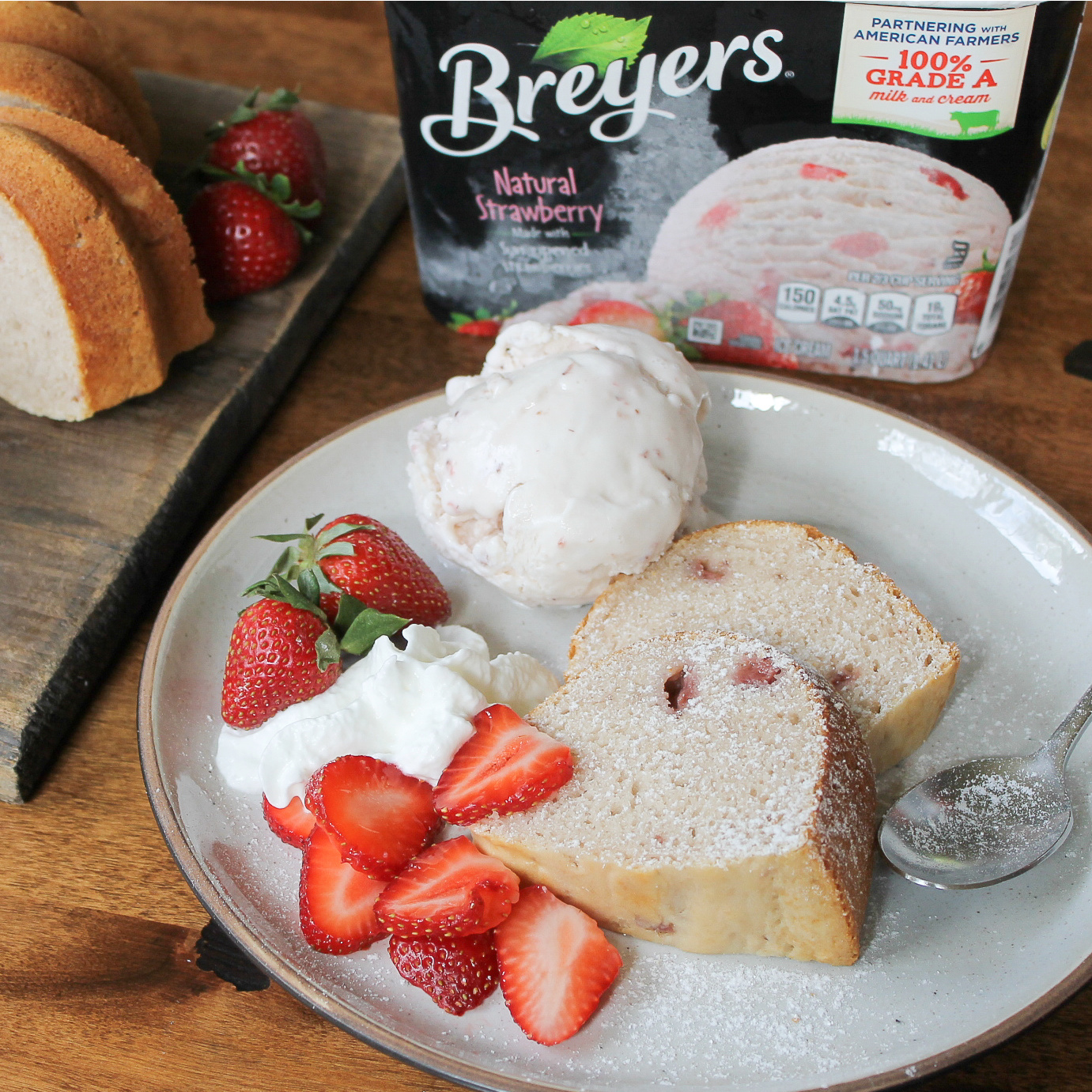 Take Advantage Of The Breyers BOGO & Whip Up A Dairy Free Ice Cream Cake! on I Heart Publix 2
