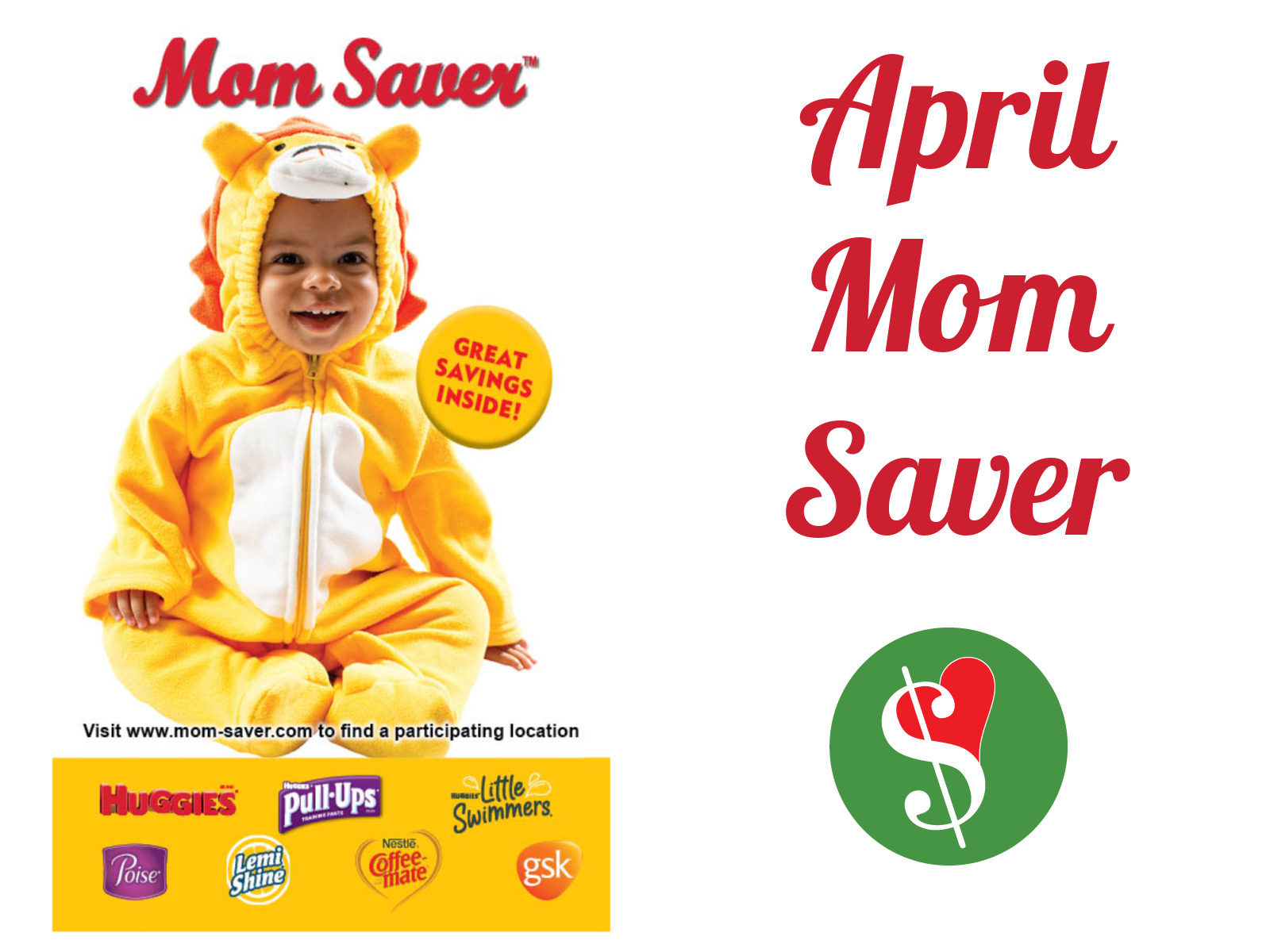 April MOM Saver Booklet + Find Your Local Event Day & Time on I Heart Publix