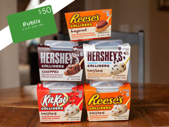 Try All Five Of The Delicious COLLIDERS™ Refrigerated Desserts And Find Your Favorite! on I Heart Publix 1