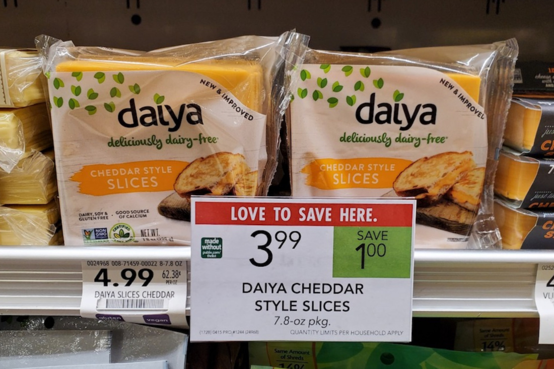 Daiya Dairy Free Shreds Just $1.50 At Publix (Regular Price $4.99) on I Heart Publix