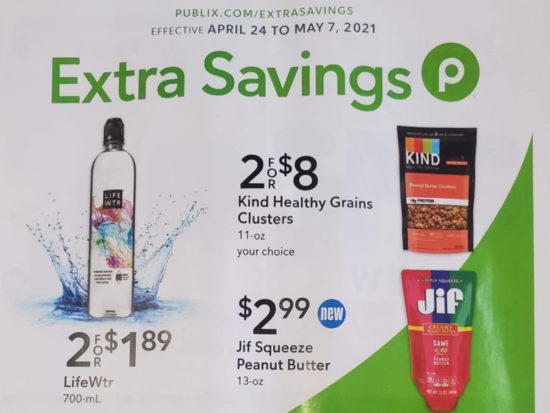 Publix Extra Savings Flyer Valid 4/24 to 5/7 on I Heart Publix