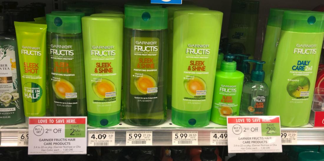 Garnier Fructis Hair Care Just $1.09 Per Bottle At Publix on I Heart Publix