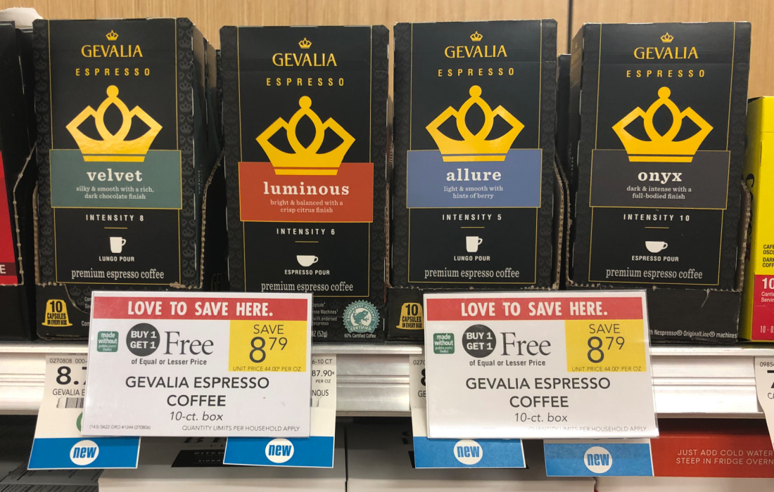 Gevalia Espresso Coffee Just $3.90 At Publix on I Heart Publix