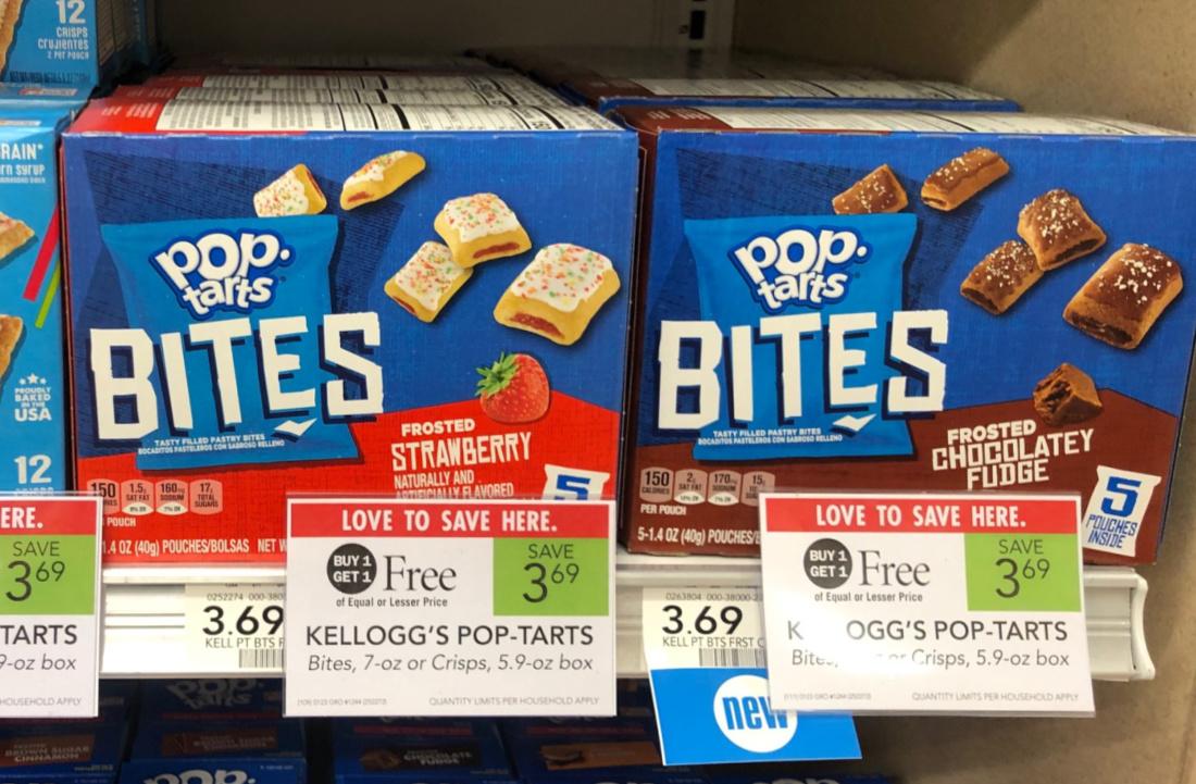 Kellogg's Pop-Tarts Bites Just $2 At Publix on I Heart Publix 3