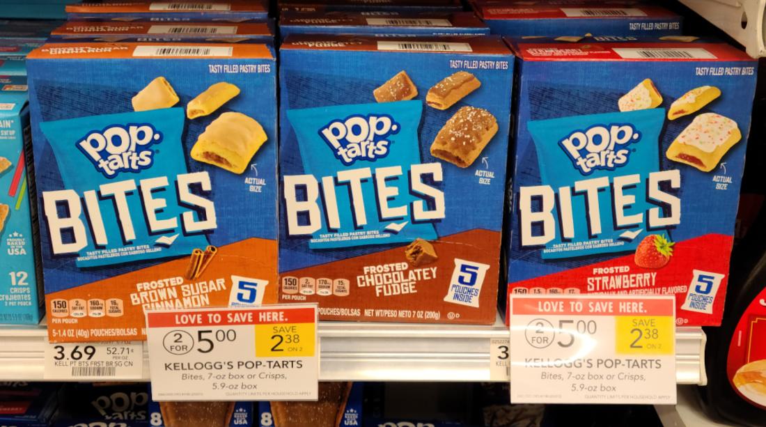 Kellogg's Pop-Tarts Bites Just $2 At Publix on I Heart Publix