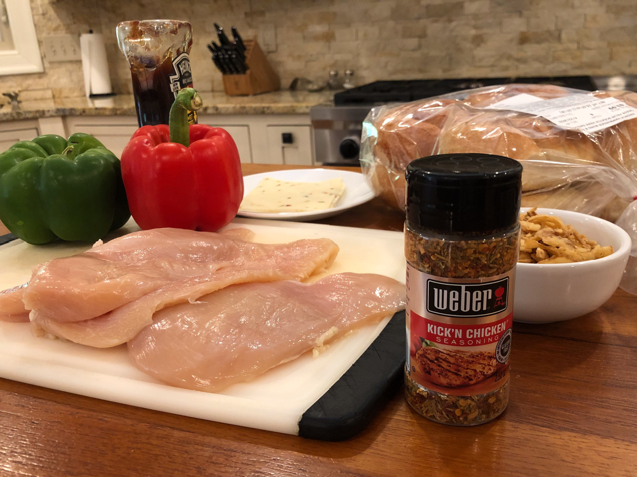 Spice Up Your Meals With Weber Seasoning - Try My Kick'n Chicken Sandwich! on I Heart Publix 1