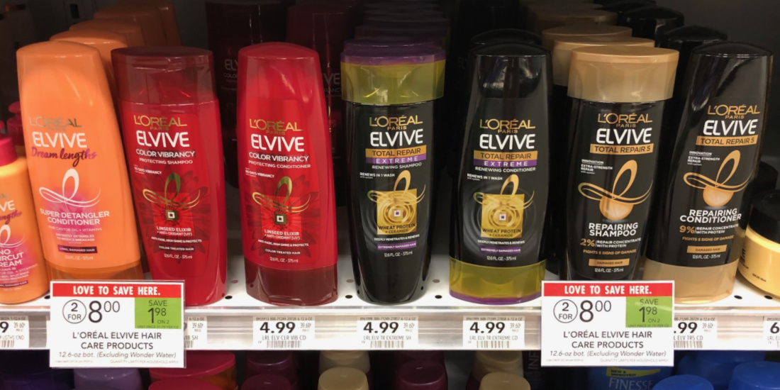 L'Oreal Elvive Haircare Just $2 Per Bottle At Publix on I Heart Publix 4