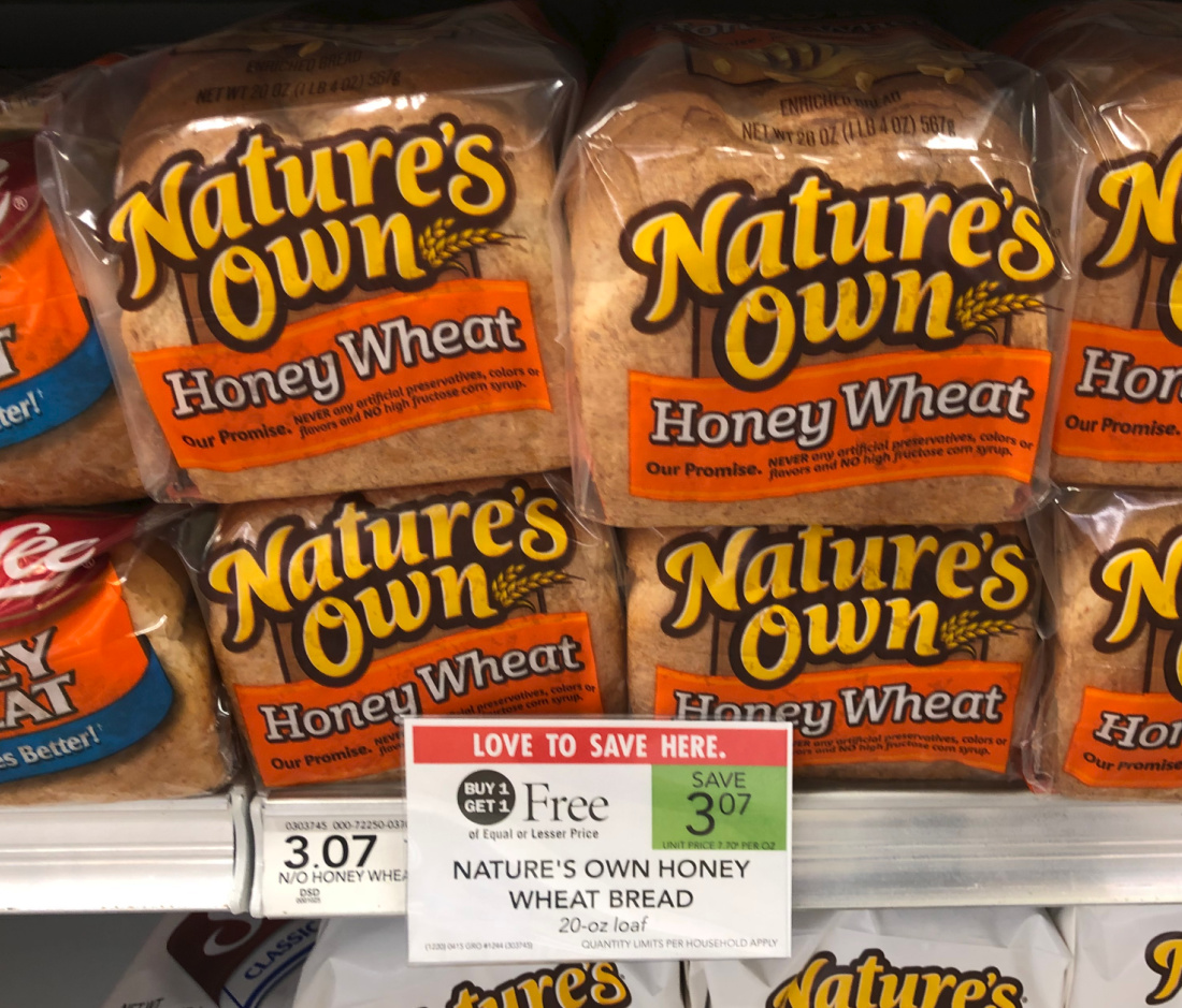 Free And Cheap Nature's Own Bread At Publix on I Heart Publix