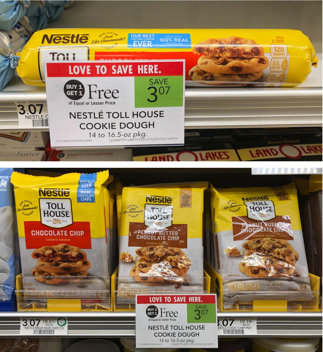 Nestle Toll House Cookie Dough Just $1.54 At Publix on I Heart Publix 1