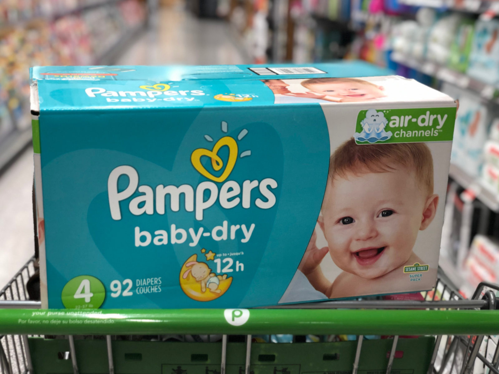 Pampers Diapers Box Just $13.99 (Save $11!) on I Heart Publix 1