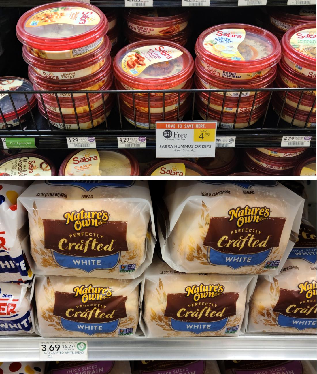 Sabra Hummus + Nature's Own Bread = Just $3.84 Total At Publix on I Heart Publix