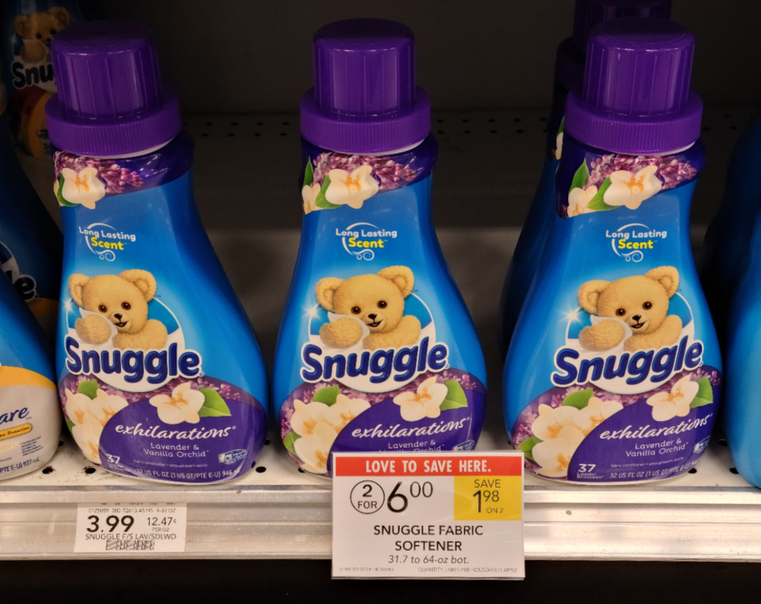 Snuggle Products As Low As $2 At Publix on I Heart Publix 6