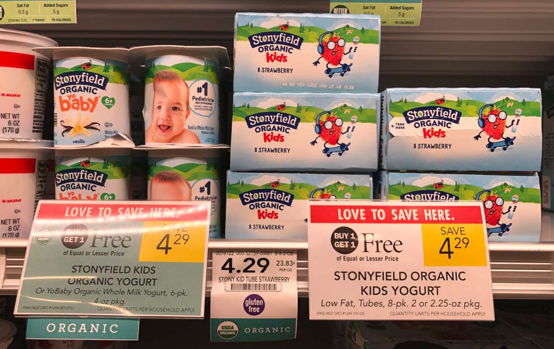 Stonyfield Kids Yogurt Multipacks As Low As $1.15 At Publix on I Heart Publix