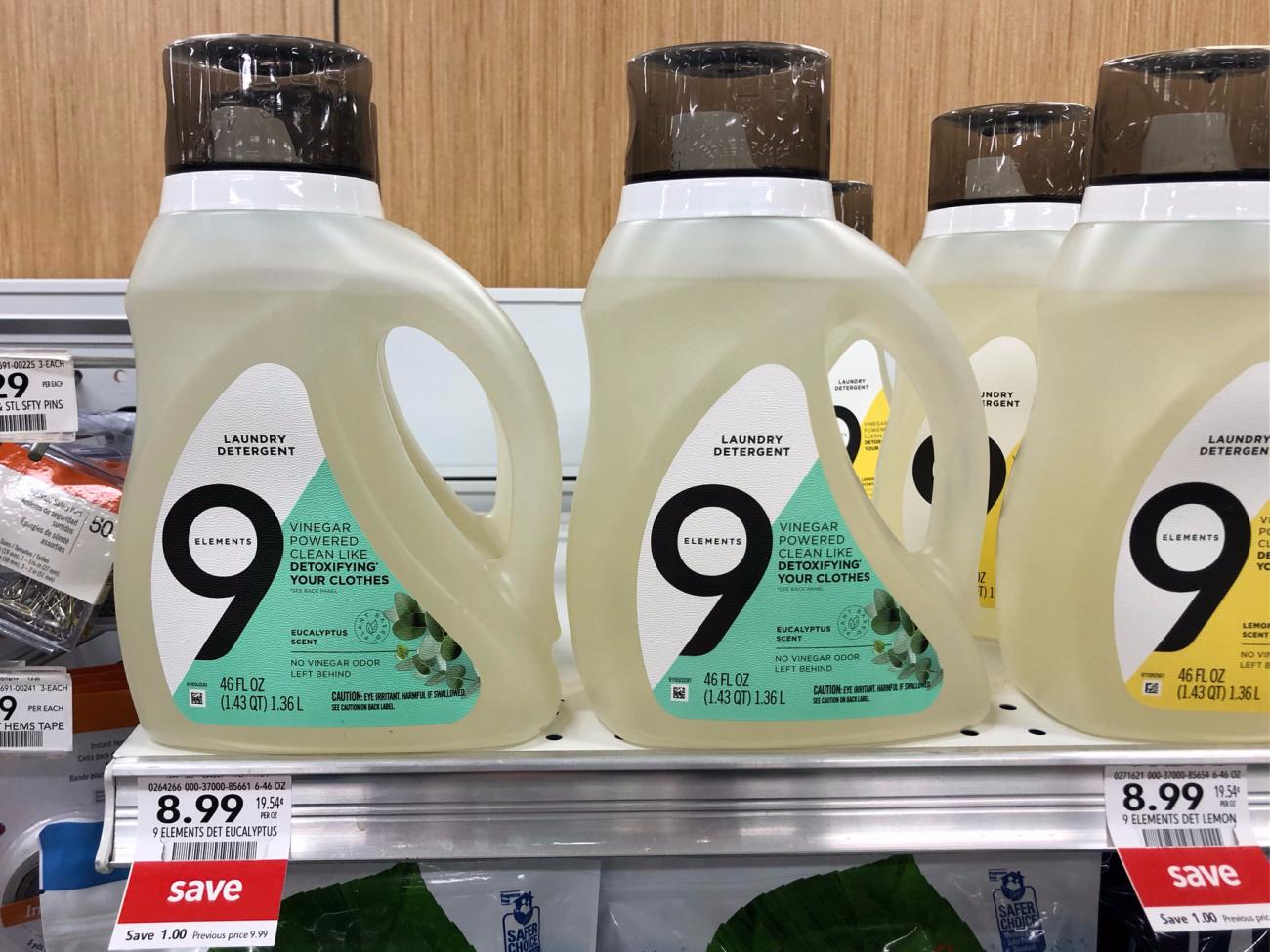 9 Elements Laundry Detergent Just $5.99 (Regular Price $9.99) on I Heart Publix