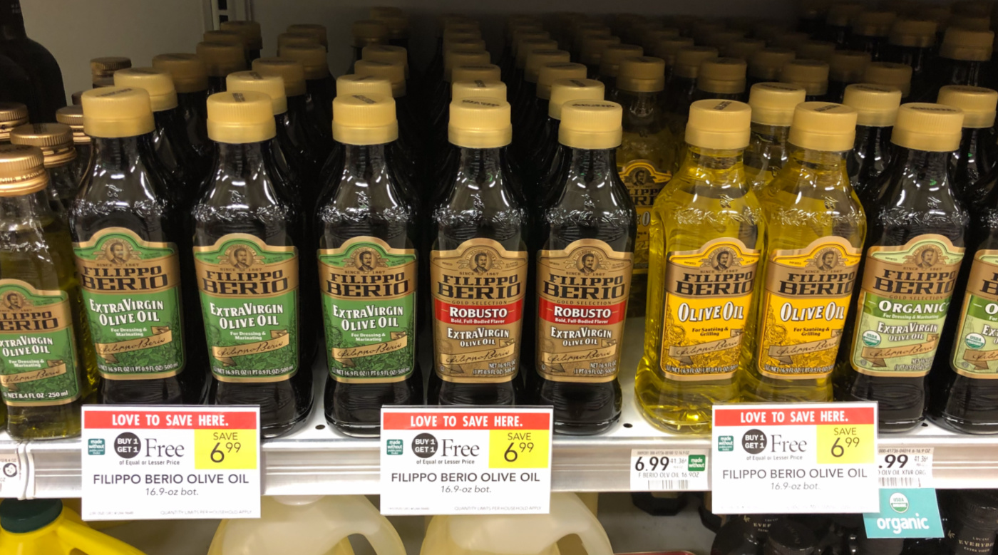Filippo Berio Olive Oil Only $2.50 At Publix on I Heart Publix