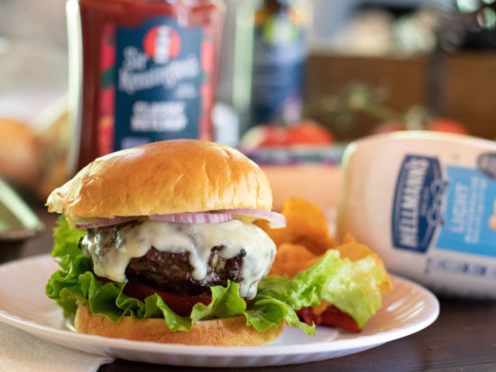 Fire Up The Grill & Serve Up A Batch Of Hellmann's Best Ever Juicy Burger At Your Cookout & Save BIG At Publix on I Heart Publix