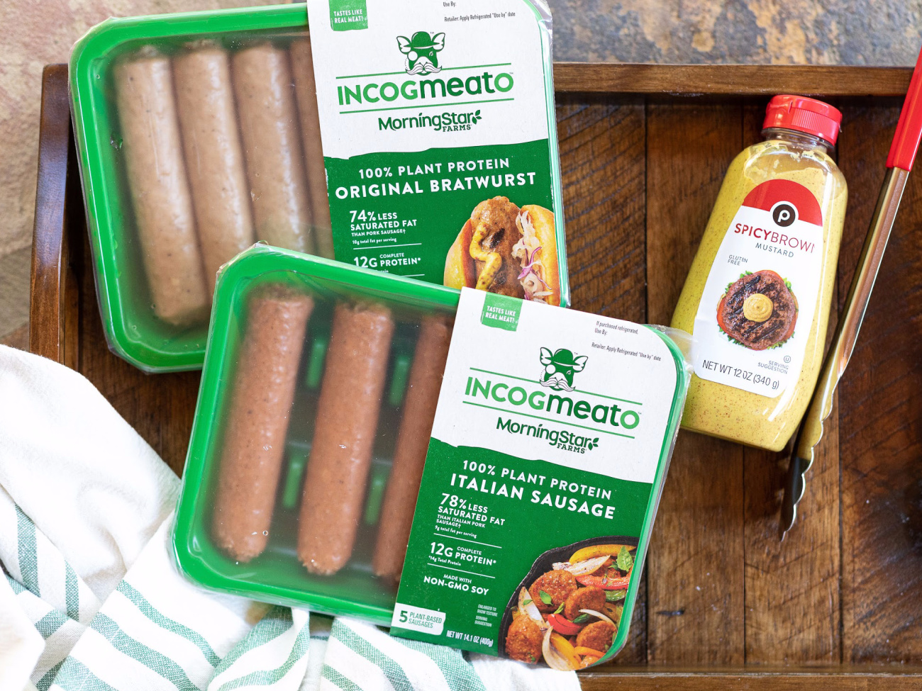 Incogmeato Bratwurst and Italian Sausage Products Are Available At Select Publix Stores - Tasty, Juicy And 100% Plant Based! on I Heart Publix 4