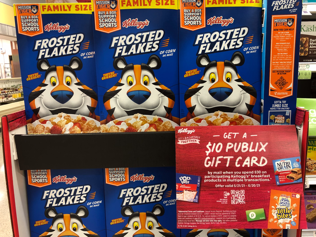 Don't Miss Your Chance To Get A $10 Publix Gift Card When You Purchase Your Favorite Kellogg's® Breakfast Products At Publix on I Heart Publix