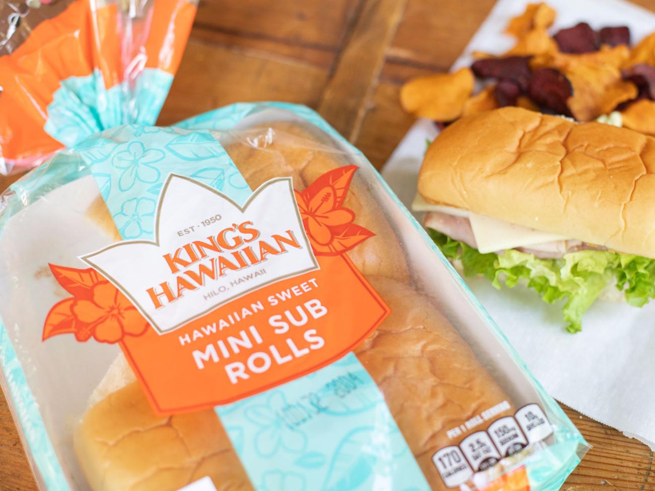 King's Hawaiian Mini Sub Rolls As Low As $1.10 At Publix on I Heart Publix